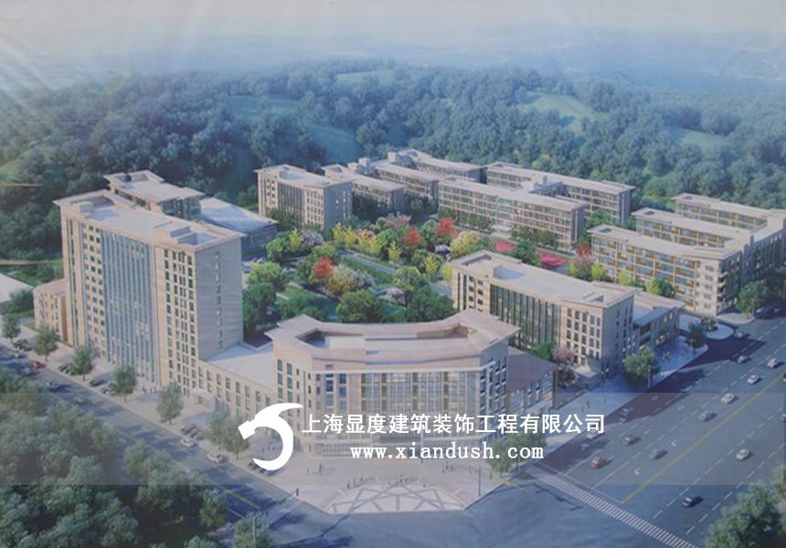 江西现代化医养结合医院初见雏形-显度开工