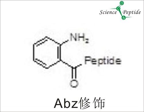Abz荧光焠灭修饰多肽