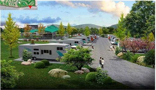 房车创意旅游 房车营地商业模式 房车营地景观设计 乡