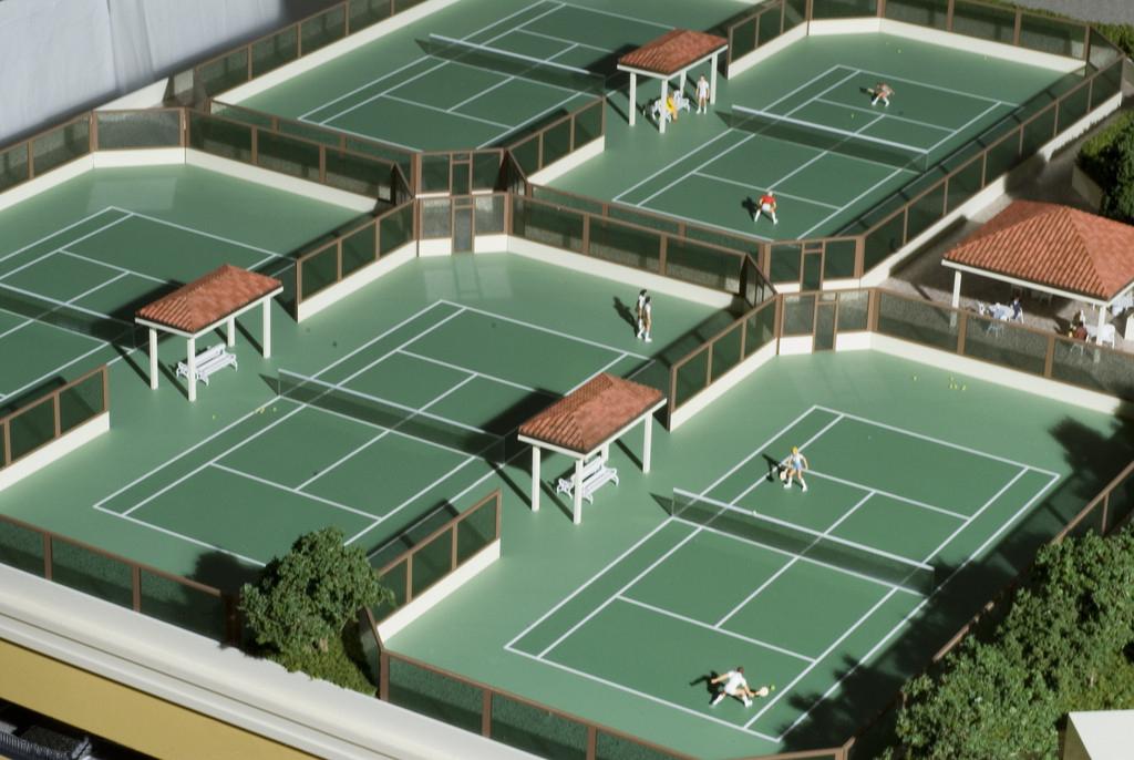 贵州专业网球场施工