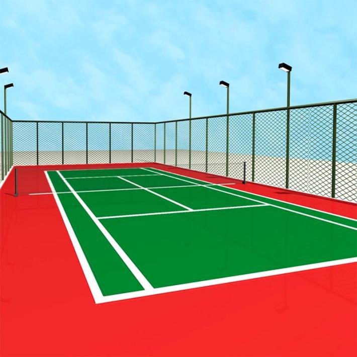 贵阳专业制造网球场地