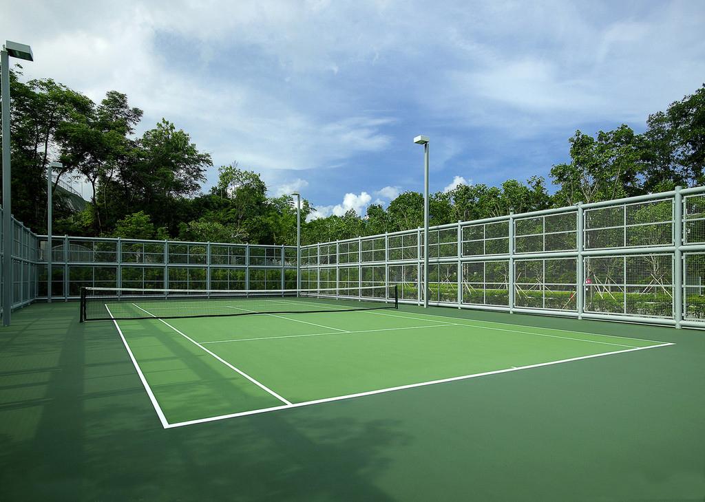 贵阳网球场地生产