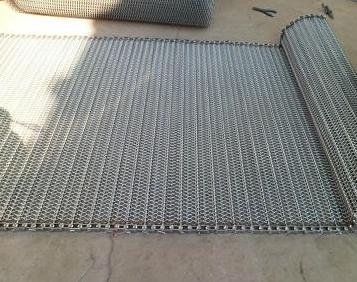 大型金属丝编织网带供应商