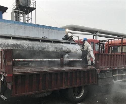 湖州吴兴化工厂槽罐车除垢清洗