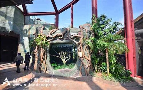 香港海洋公园仿真景观