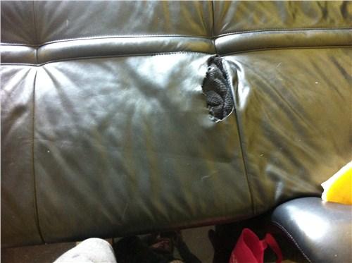 上海汽车座椅破洞修补