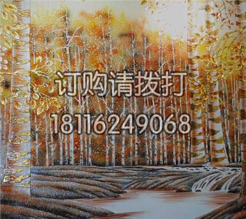 浮雕背景墙布