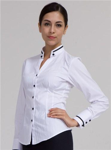 提供温州天丝凉爽商务短袖衬衫价格森美供