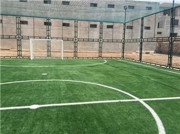 笼式足球场建造