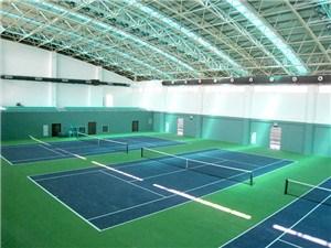室内网球场建造