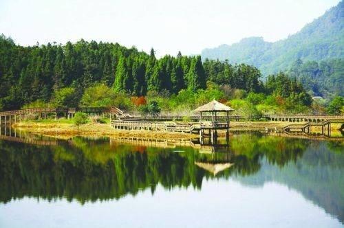浙江杭州下城区风景图
