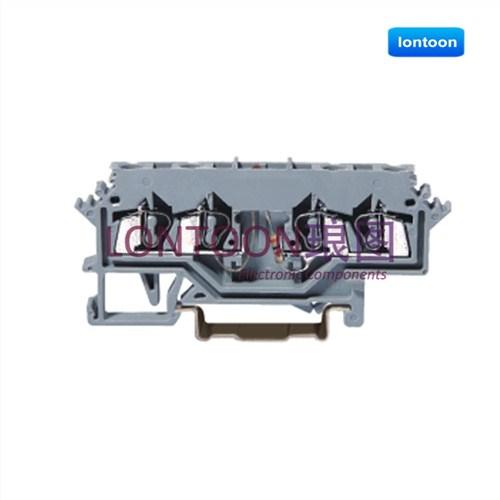 上海琅图轨装弹簧接线端子连接器厂 轨道弹簧接线端子连接器价格