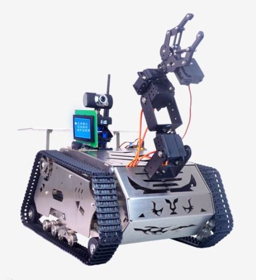智能机器人  小型智能机器人 智能机器人教具  洲斯物联供