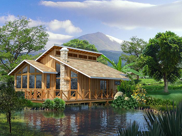 优质小木屋设计,湖北精品小木屋诚信商家,湖北生态农家乐木屋哪家有