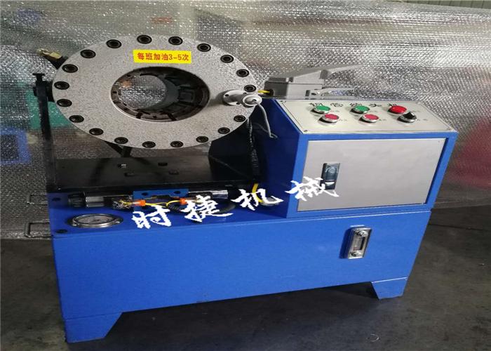 亳州全自動鋼管扣壓機 鋼管壓管機價格