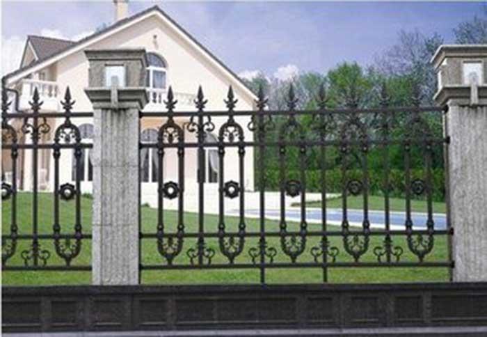 手绘装饰栅栏门