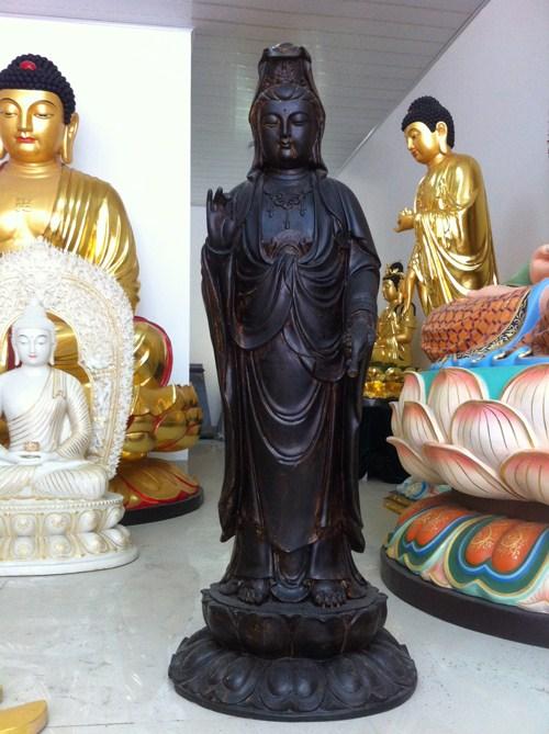 台湾生漆脱胎佛像