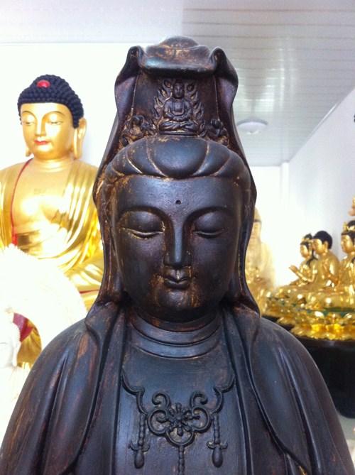 黑龙江彩绘佛像