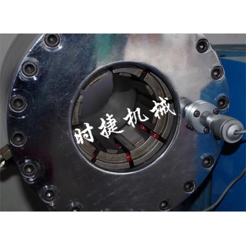 舟山大棚管鋼管縮徑機 鋼管縮頭機 扣壓機