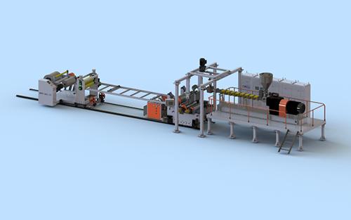 湖南PLA聚乳酸降解片材生产线省钱 金韦尔供应