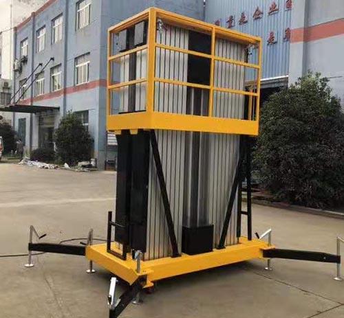 专业铝合金升降机生产厂家 卓钢升降机械供应