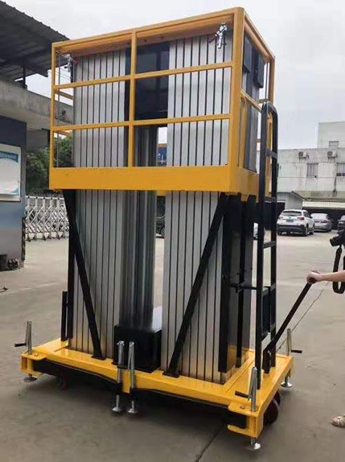 定制铝合金升降机直销 卓钢升降机械供应