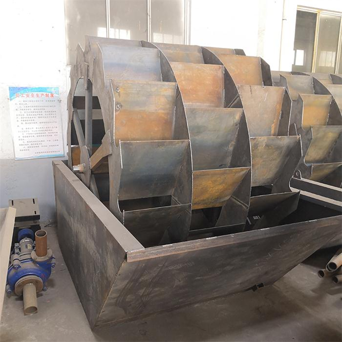 九成新轮式洗砂机
