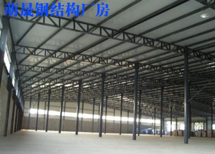 南阳钢结构厂房上门安装 萌晟供应