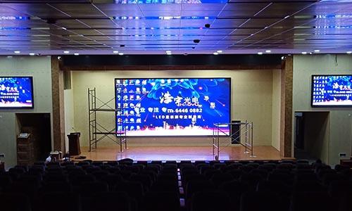潍坊高清全彩LED显示屏报价「淄博浩宇光电供应」