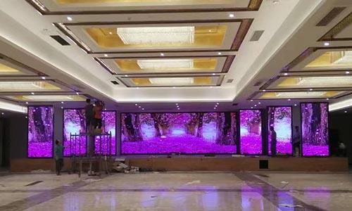 济南LED显示屏安装「淄博浩宇光电供应」