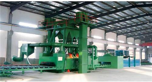 佛山重型钢结构通过抛丸机直供 广东佛山抛丸机办事处供应