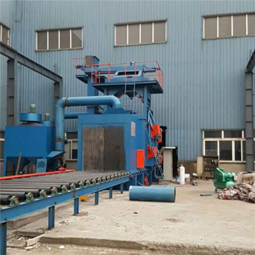云浮重型钢结构通过抛丸机批发 广东佛山抛丸机办事处供应