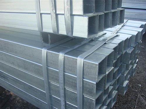 昆明鍍鋅方管規格尺寸 信譽保證 云南貿軒商貿供應