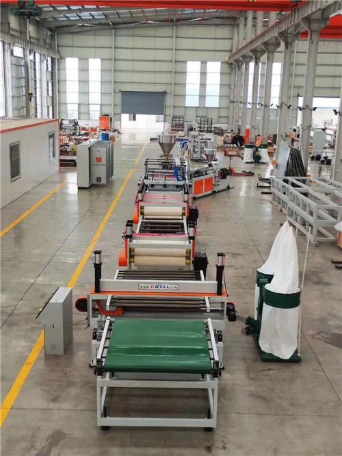 PP中空塑料建筑模板设备 苏州金韦尔机械供应