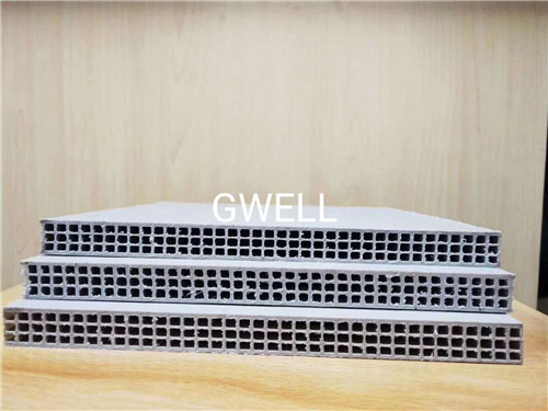 江苏中空塑料建筑模板生产线多少钱 苏州金韦尔机械供应