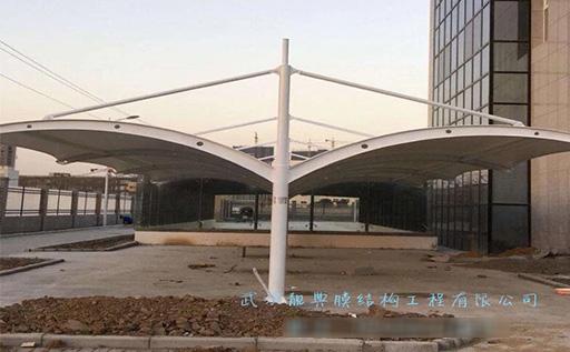 天门膜结构车棚方案设计 优质推荐 靓典供应