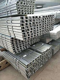 上海10号槽钢厂家批发 南京企畅建材供应