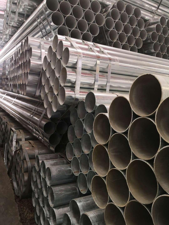 江蘇南京金屬熱鍍鋅管多少錢 南京企暢建材供應