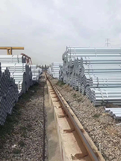 江蘇南京金屬熱鍍鋅管批發價格 南京企暢建材供應