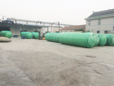 玻璃钢化粪池价格表 通州区兴东兴林玻璃钢制品供应