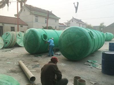 玻璃钢化粪池厂家热线 通州区兴东兴林玻璃钢制品供应