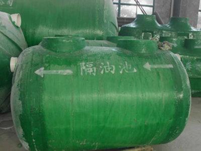 玻璃钢隔油池价格低 通州区兴东兴林玻璃钢制品供应
