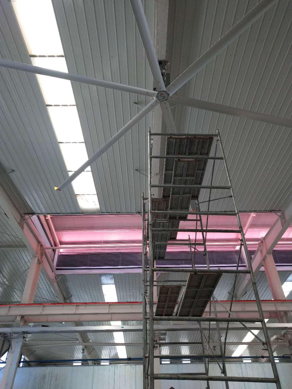 上海工廠大型通風扇大直徑吊扇節能環保 上海愛樸環保科技供應