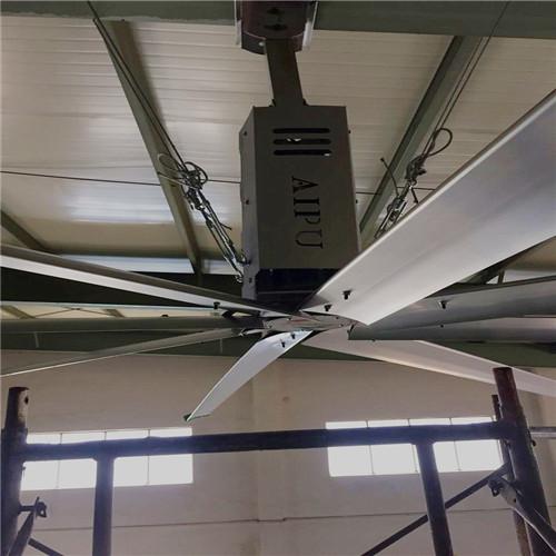 上海8米工业大吊扇省电降温 上海爱朴环保科技供应