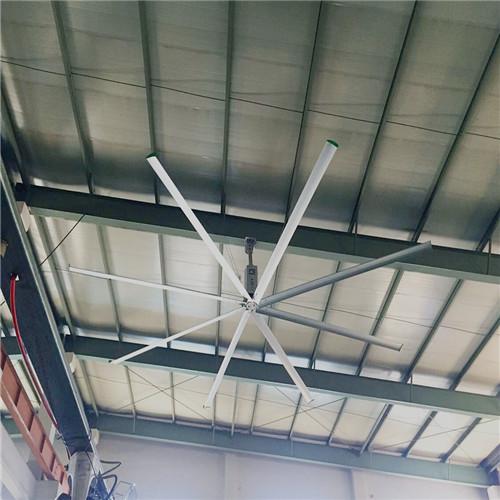 上海8.6米工業大型風扇工業大吊扇倉庫降溫風扇 上海愛樸環保科技供應