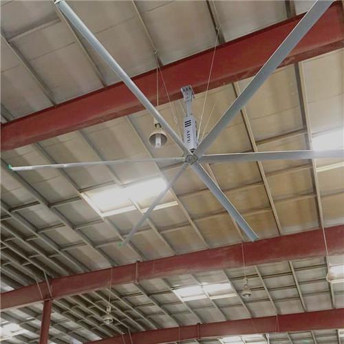 上海8.6米工業大型風扇大型吊扇高大廠房降溫 上海愛樸環保科技供應