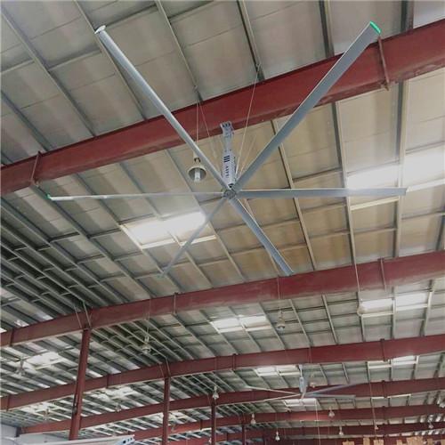上海8.6米工業大型風扇大型吊扇省電降溫 上海愛樸環保科技供應