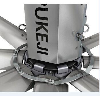上海大风量大型吊扇通风换气 上海爱朴环保科技供应