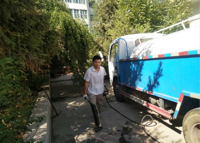 沙依巴克区快速下水管道疏通便宜 信誉保证 精湛阳光供应