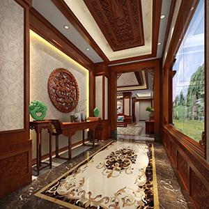 河南茶室古典風格裝修 河南傳世金閣裝飾工程有限公司